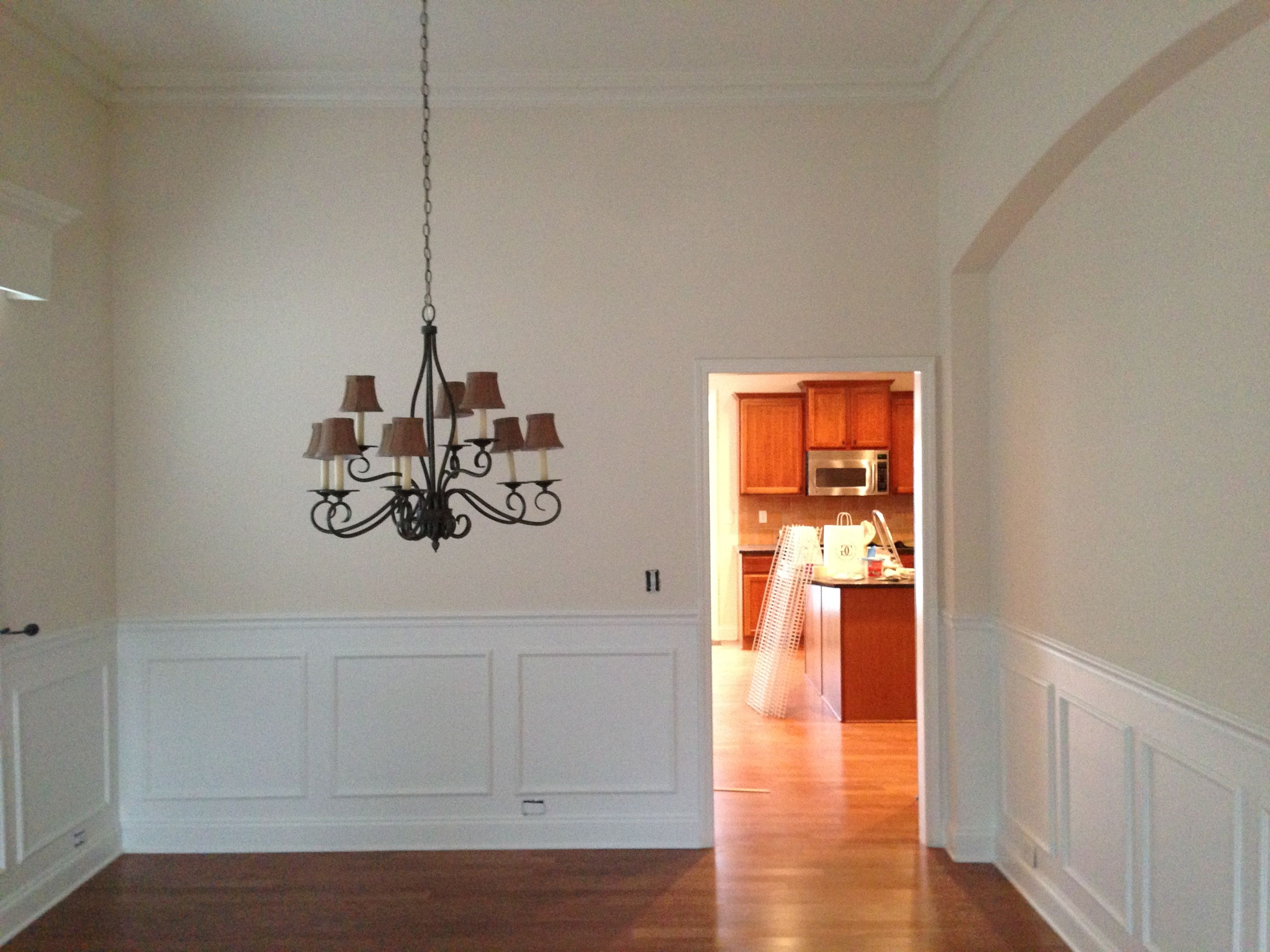 After Photo Updated With Sherwin Williams Superpaint Sw 6140 Moderate White And Trim Is Decorator White S Home Wall Painting Interior Decorating Decor Design