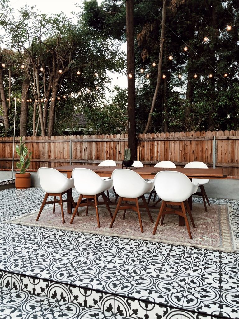 Outside Patio Tile Ideas: How To Create An Outdoor Vibe
