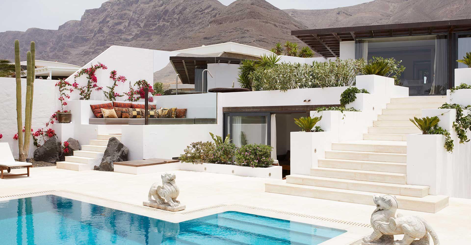 Decoración ontour. Casa Sua en Playa Famara, Lanzarote