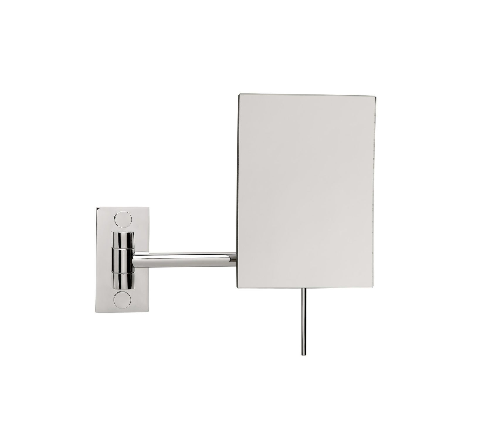 Wall-mounted bathroom mirror / magnifying / contemporary ...