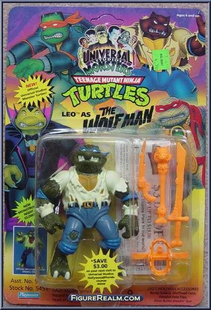 Teenage Mutant Ninja Turtles Mutant Monster Toys : Leo as the wolfman from teenage mutant ninja turtles