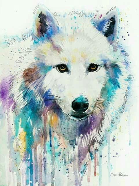 Epingle Par Myelle Borjal Sur Wolf Dessin De Loup Loup Dessin