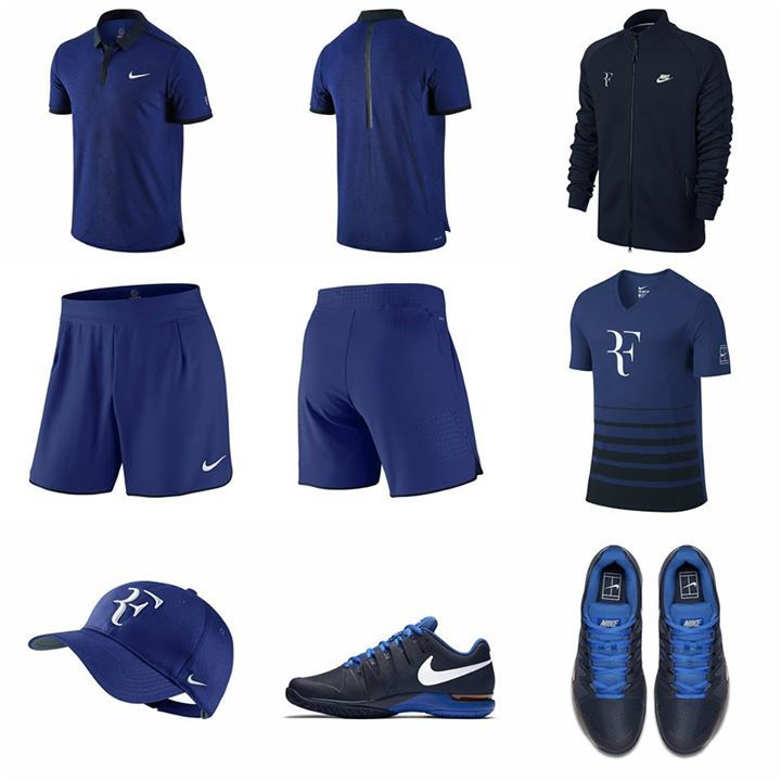 Here Is Roger Federer S Outfit For The French Open 2016 Tennis Fashion Roger Federer Tennis Gear