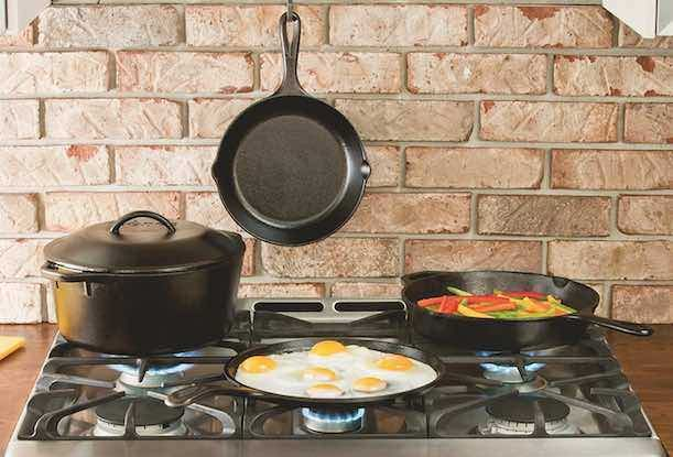 Amazon: Lodge Cast-Iron Chef's Skillet Only $6.27!