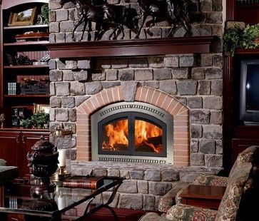 Lopi Wood Burning Fireplace From The Fireplace Factory In Long