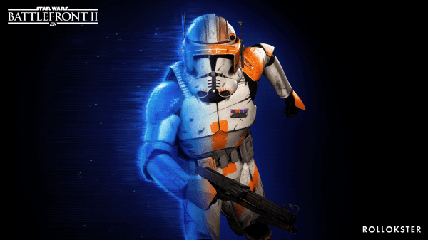The Mod Brings Legendary Clone Commander Cody To Star Wars Battlefront Ii By Replacing Finn Star Wars Baby Star Wars Battlefront Star Wars