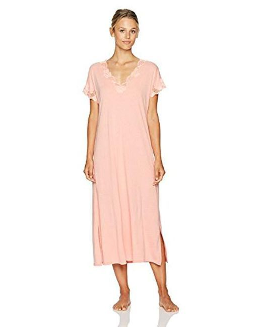 5585cd5dca Women s Pink Zen Floral Covered Nightgown in 2019
