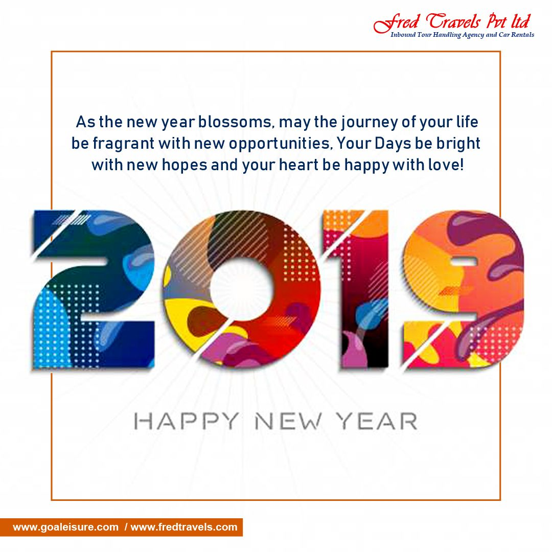 As the new year blossoms may the journey of your life be