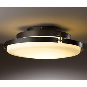 Metra led ceiling light fixture by hubbardton forge 126747 1002