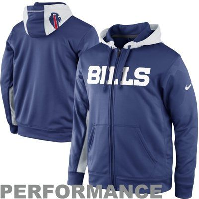 Buffalo Bills Womens Nike Half-Zip Performance Jacket | Buffalo ...
