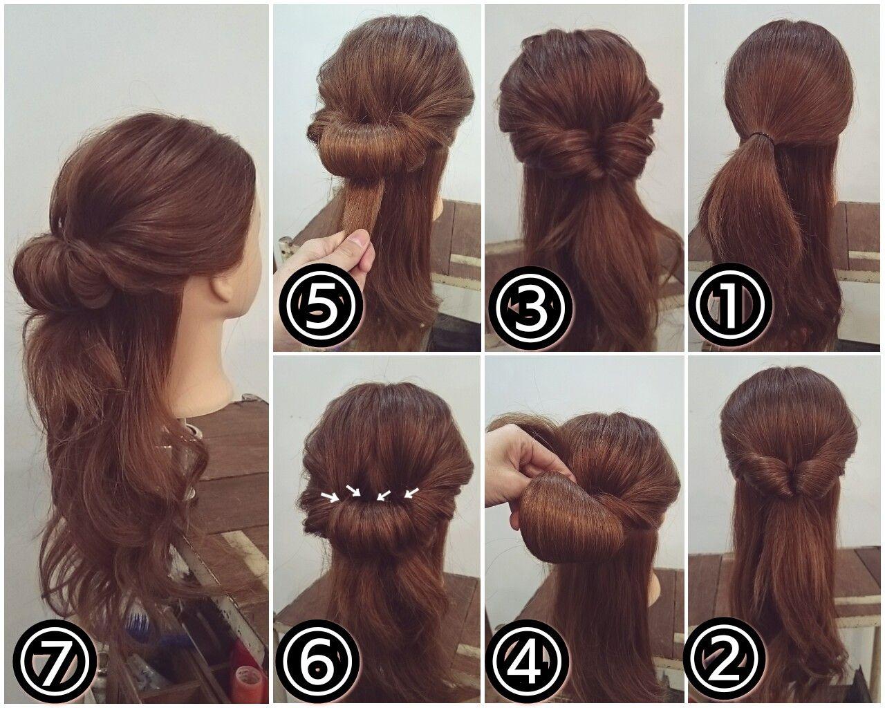 ヘアアレンジ Https Www Instagram Com Nest Hairsalon ヘアスタイリング 簡単ヘアアレンジ ロング まとめ髪 簡単ヘア