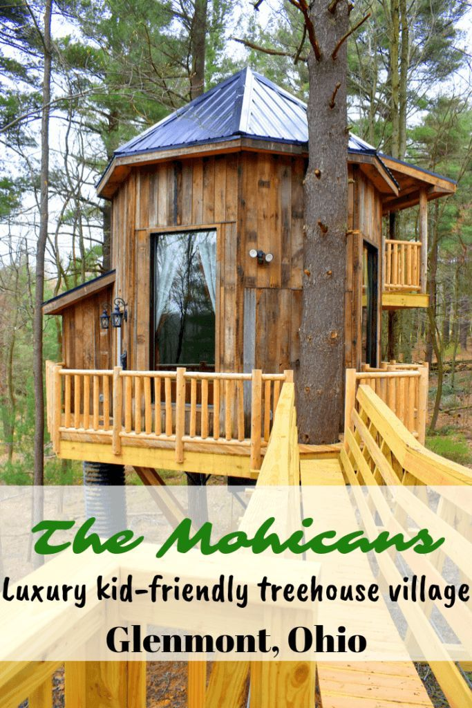 The Mohicans Luxury kidfriendly treehouse village in