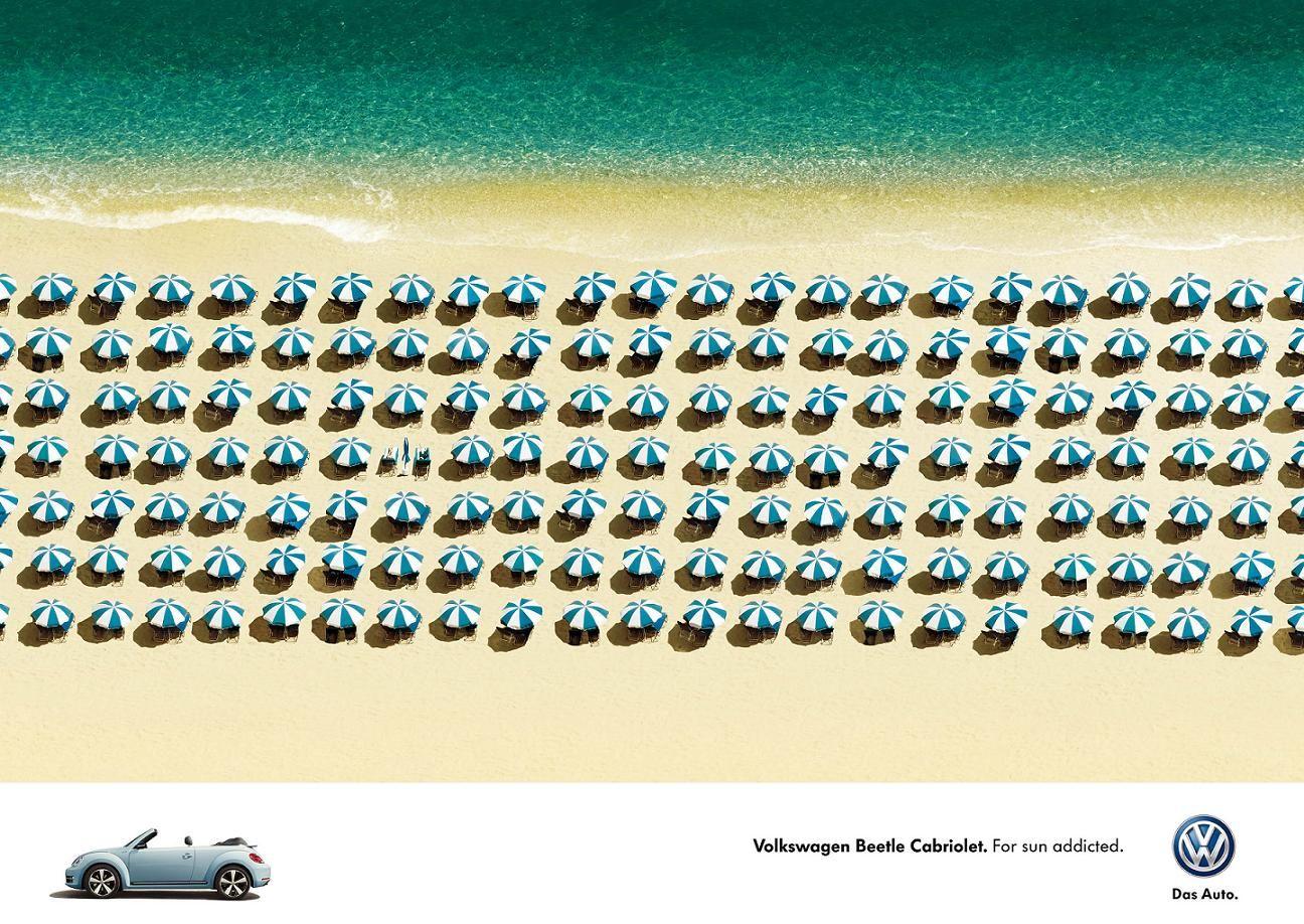 Volkswagen Beetle Cabriolet : Umbrella