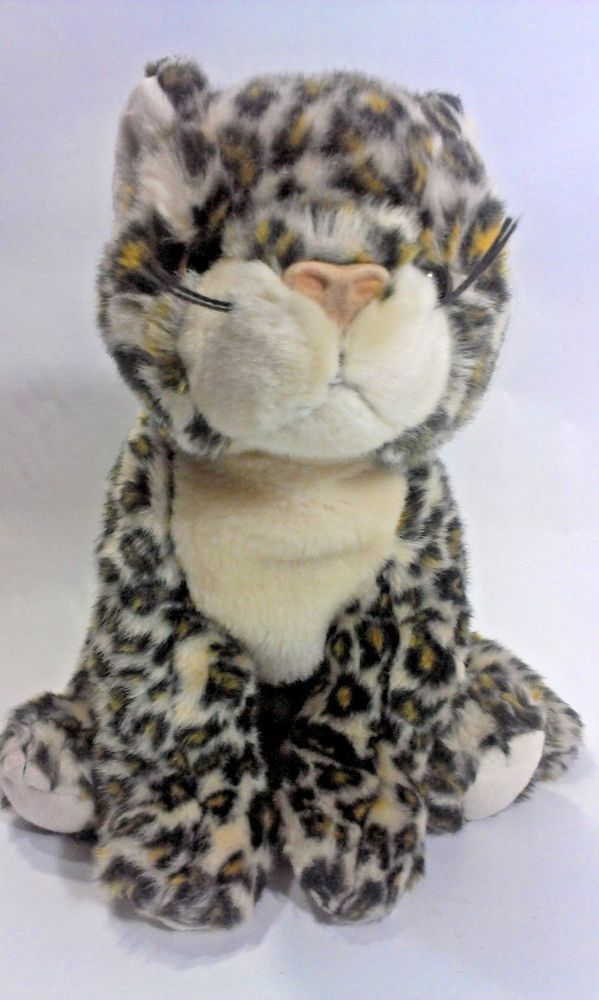 Ty Beanie Buddy Leopard Sneaky Cat Plush Stuffed Animal 2000 Cheetah