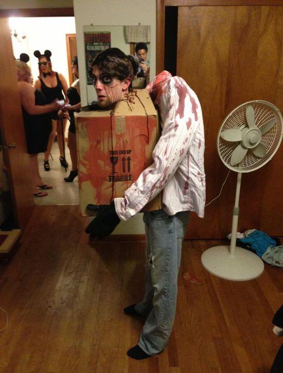 Déguisement dégueu pour Halloween / Scary Halloween costume - scary halloween ideas