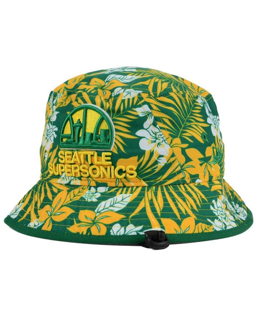 2dba90499 New Era Seattle SuperSonics Wowie Bucket Hat   sonics   Bucket hat ...