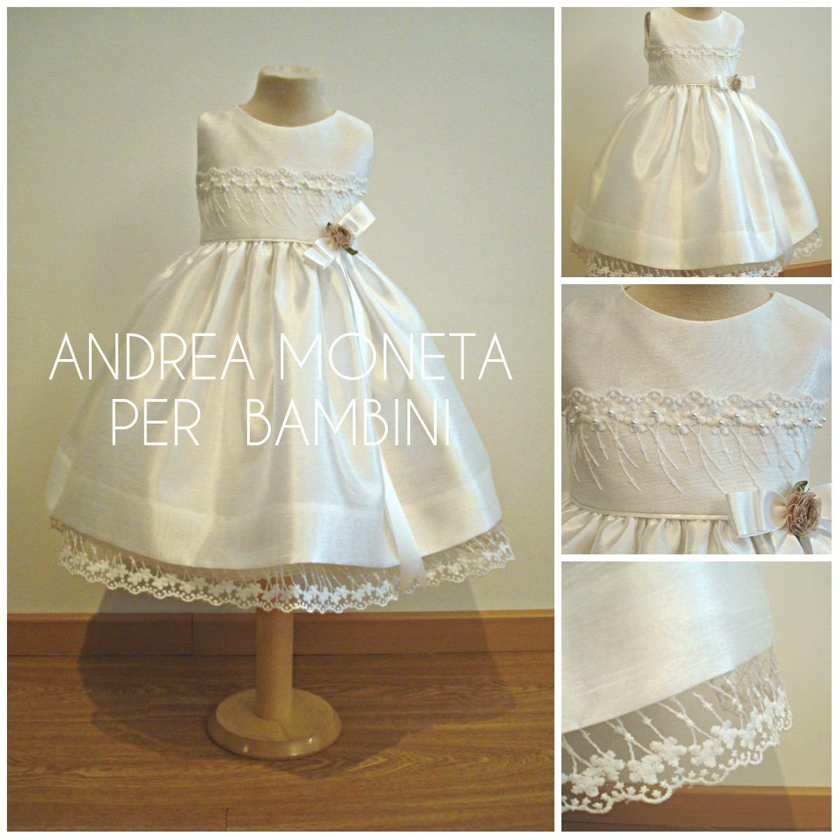 vestido-fiesta-bautizo-boda-bebe-nena-bautismo-moneta-117-9013 ...