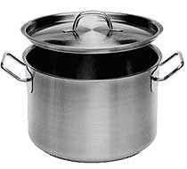 Induction Ready Stainless Steel Stock Pots