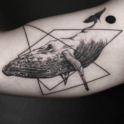 Les tatouages géométriques de Okan Uçkun - 2Tout2Rien