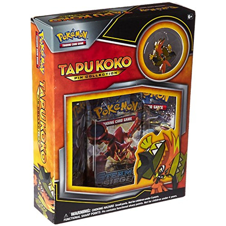 Product review- tapu koko pin collection! | Pokémon