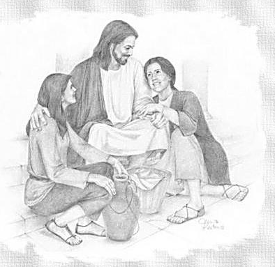 Cercano A Los Jovenes Jesus De Nazareth Imagenes De Jesus Pinturas A Lapiz