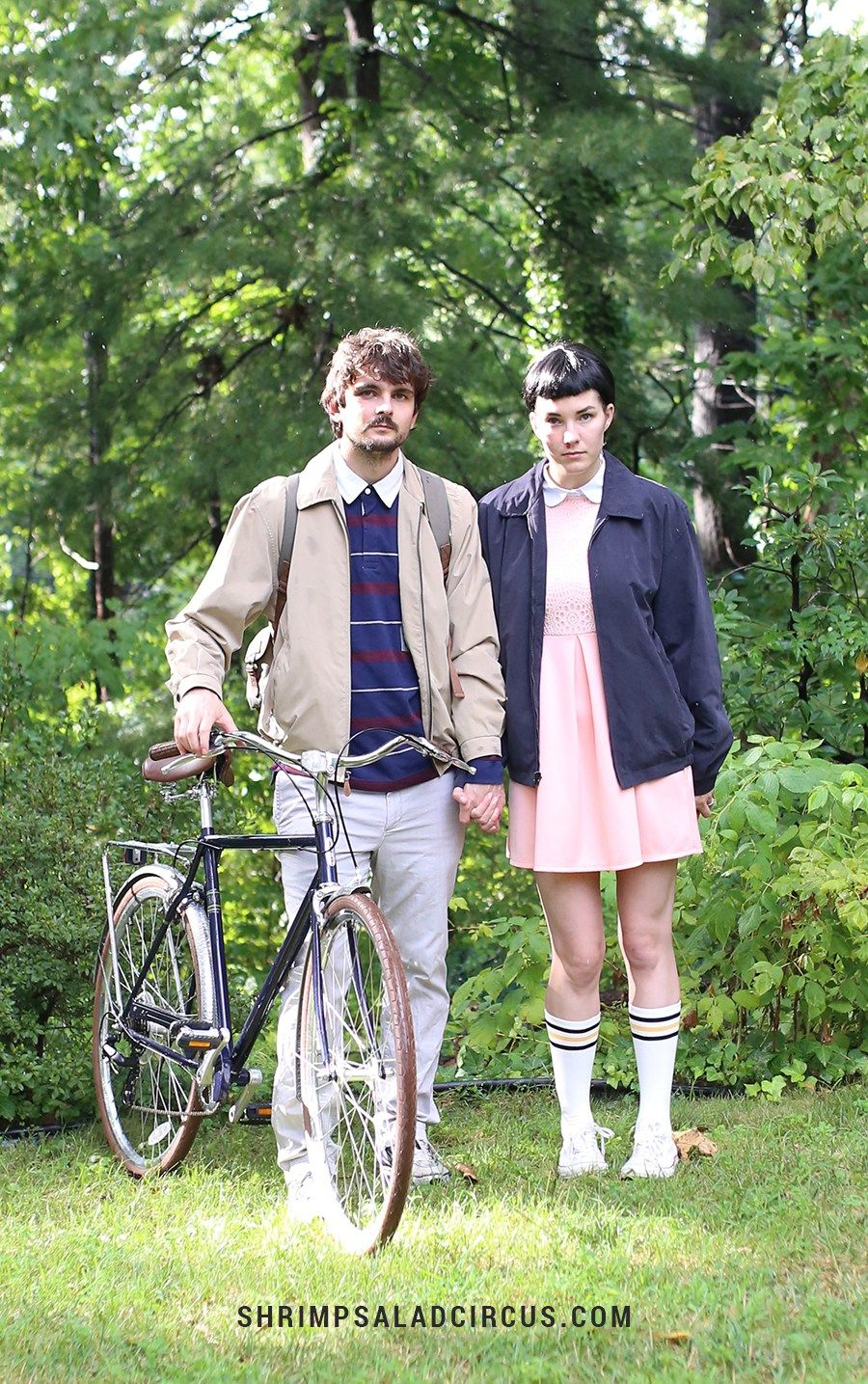 diy stranger things halloween costume mike and eleven