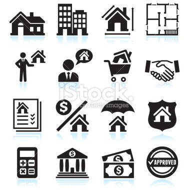 10+ Real Estate Clipart Black And White