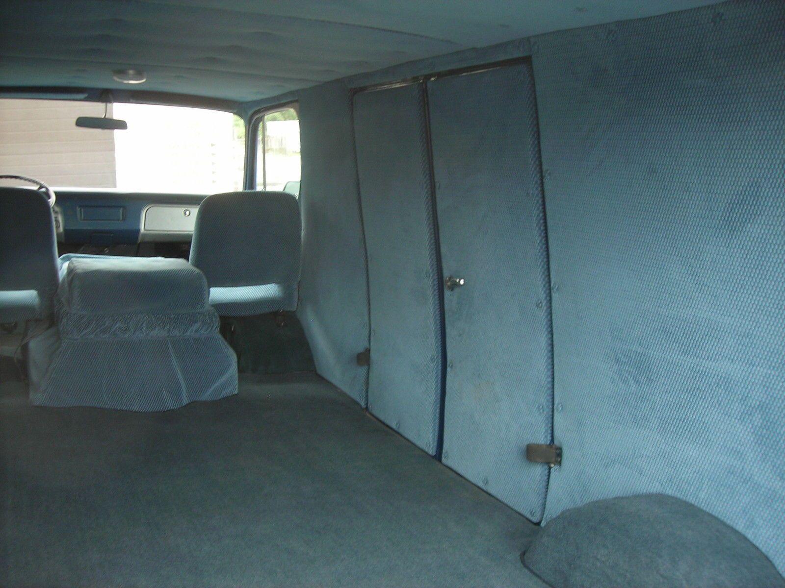 1969 Chevrolet G20 Van With Images Custom Van Interior Van