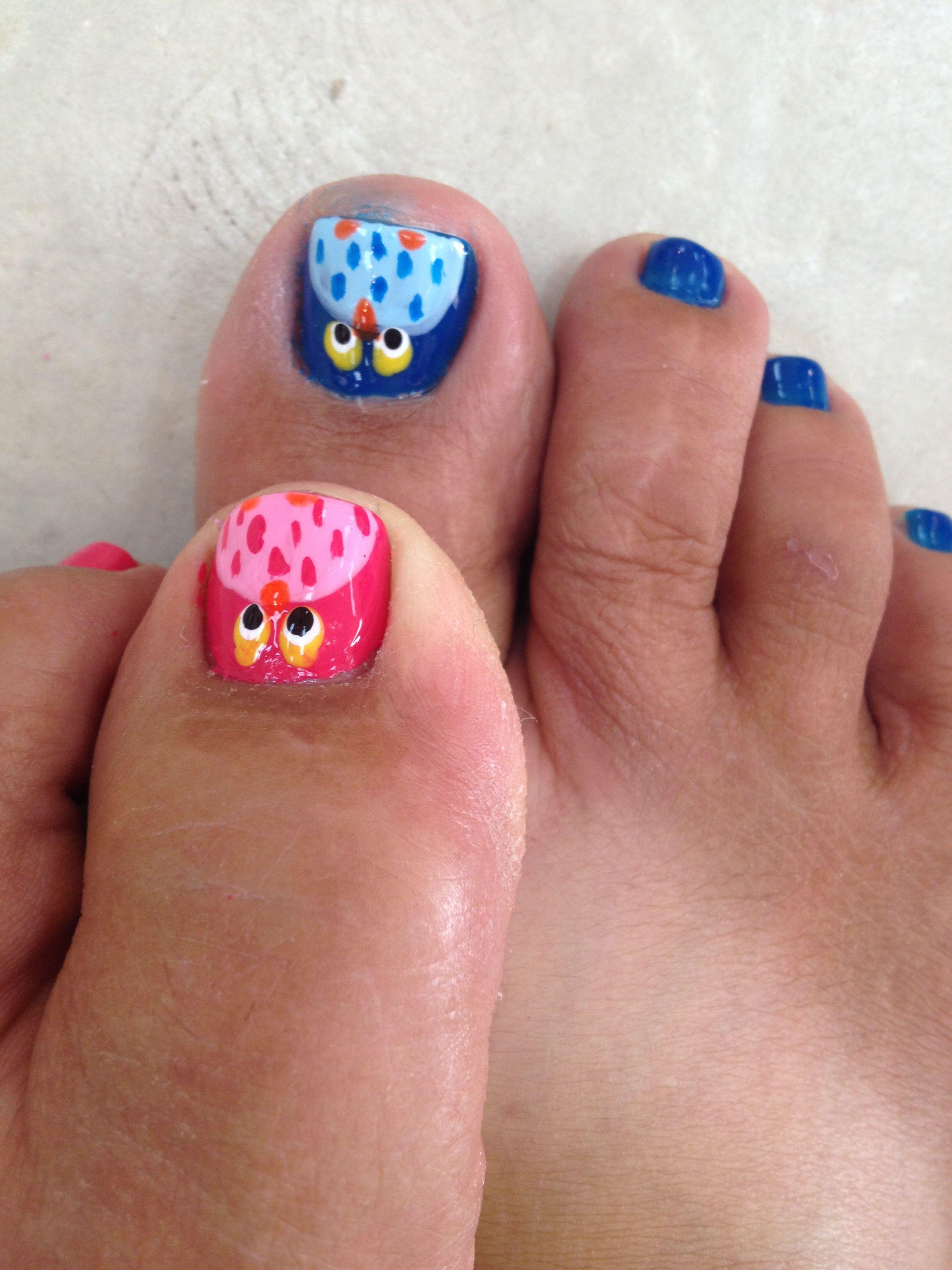 Toe And Finger Nail Art