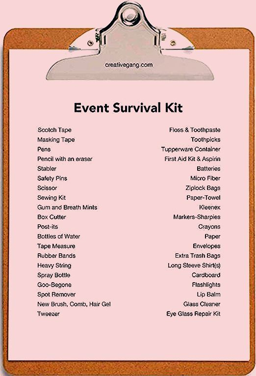 Party Planning Checklist Printable