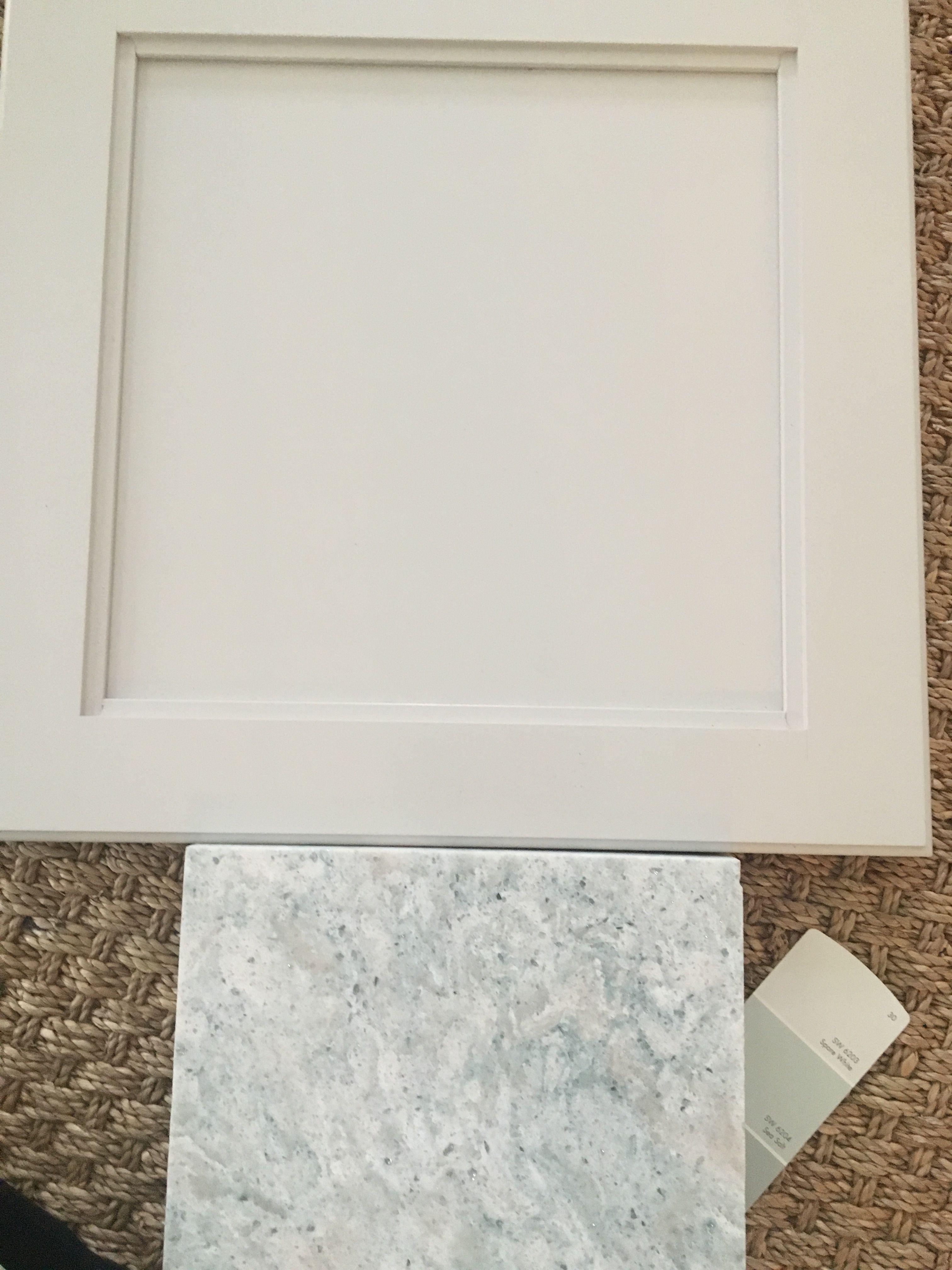 Master bathroom Diamond solid wood cabinets Dover, SW 6204 Sea Salt ...