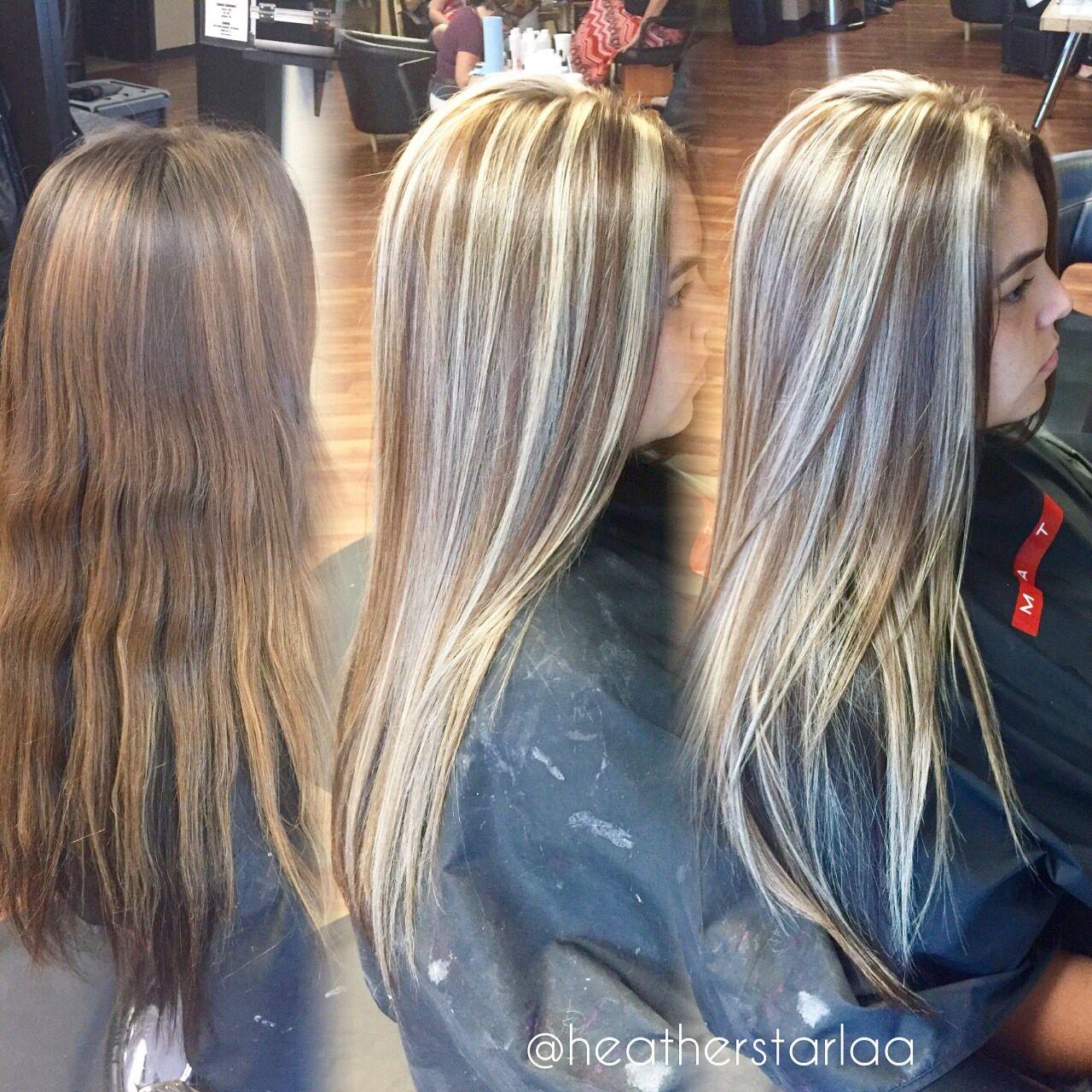 Outstanding Carmel Brown With Ash Blonde Highlights Brown Hair Blonde Hair Short Hairstyles Gunalazisus