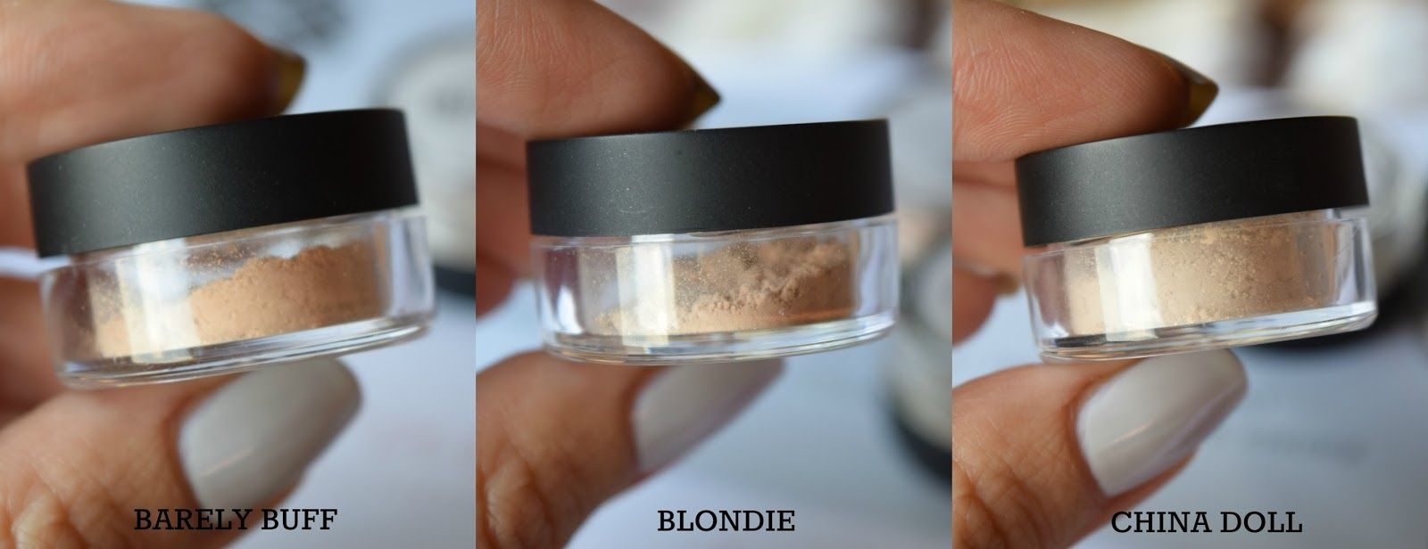 42b5808c4c0 Lily Lolo Mineral Foundation In Shades Barely Buff, Blondie ...