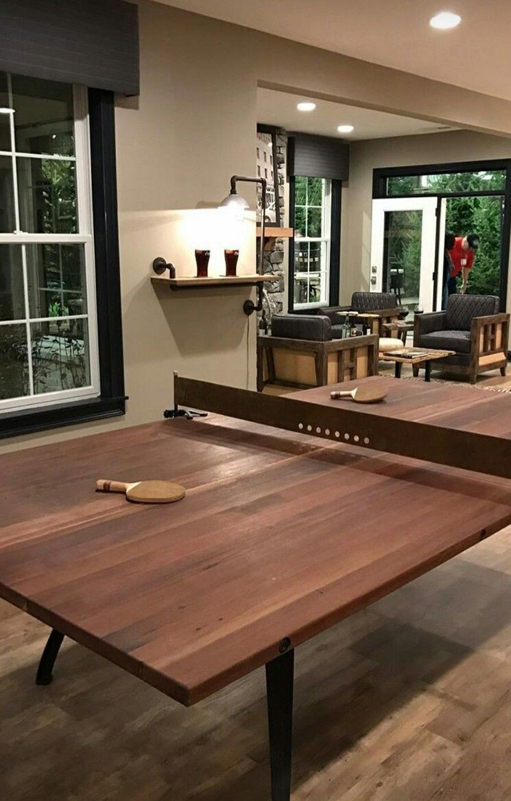 Classy Ping Pong Table Ping Pong Room Game Room Basement Game Room