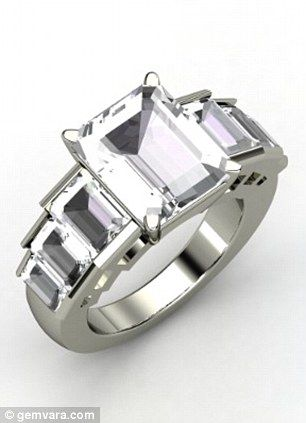 Rock crystals are forever Angelina Jolies 500000 diamond