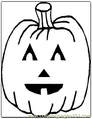 Pumpkin | Halloween coloring pages | Pinterest