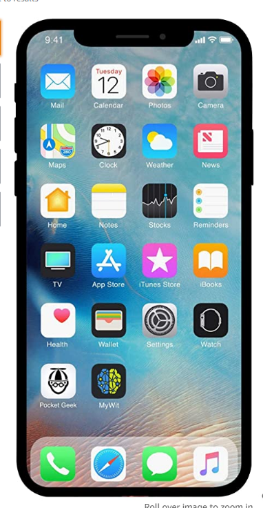 Apple Iphone Xr 128gb Black Fully Unlocked Renewed Homescreen Iphone Iphone Iphone Accessories