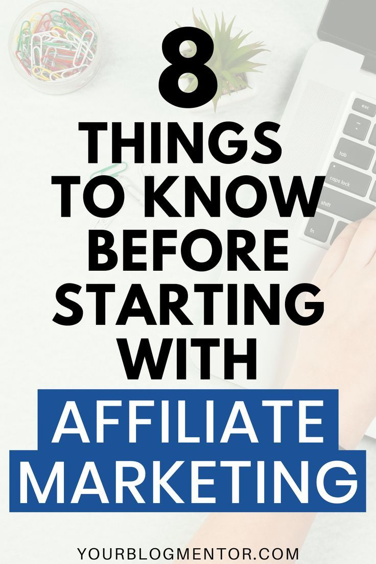 Looking forward to monetize your blog with affiliate marketing by promoting affiliate products? Here are 8 important things to know before starting with affiliate marketing.  #affiliatemarketing #makemoneyblogging #makemoneyonline