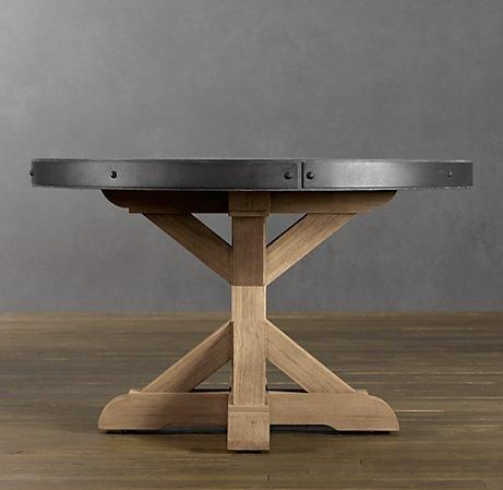 Concrete Round Dining Table | Round Dining Tables | Restoration Hardware