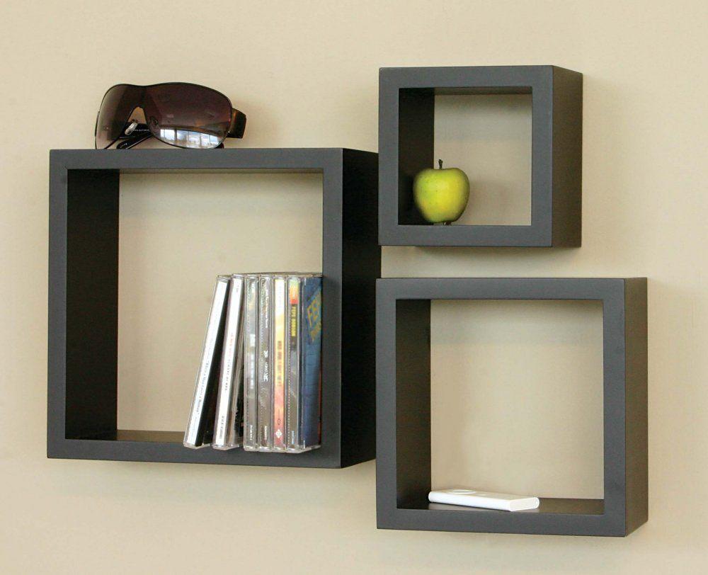 Decorative Wooden Wall Shelves المرسال Cube Wall Shelf Floating Wall Shelves Wood Wall Shelf