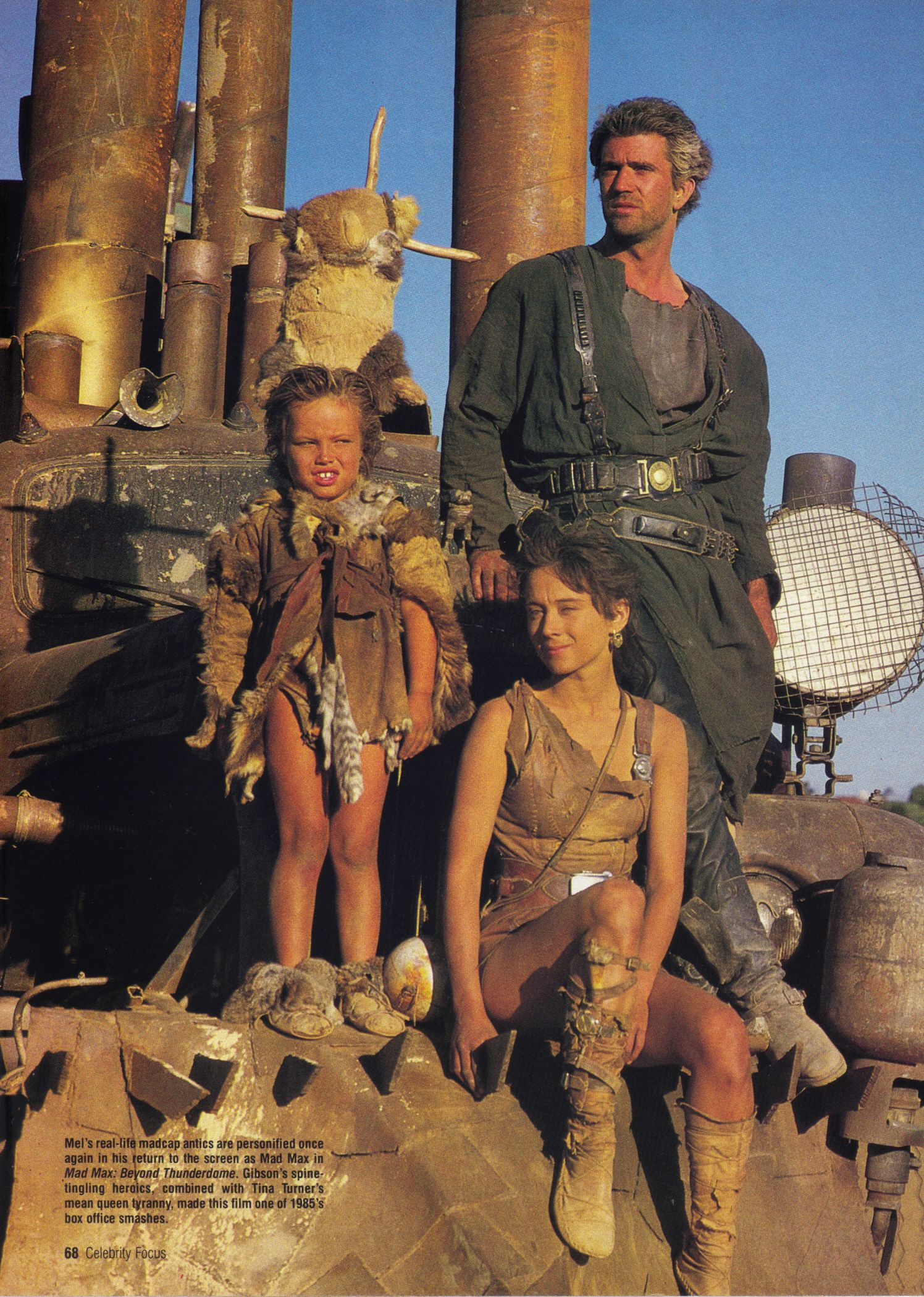 Mad Max Thunderdome Characters