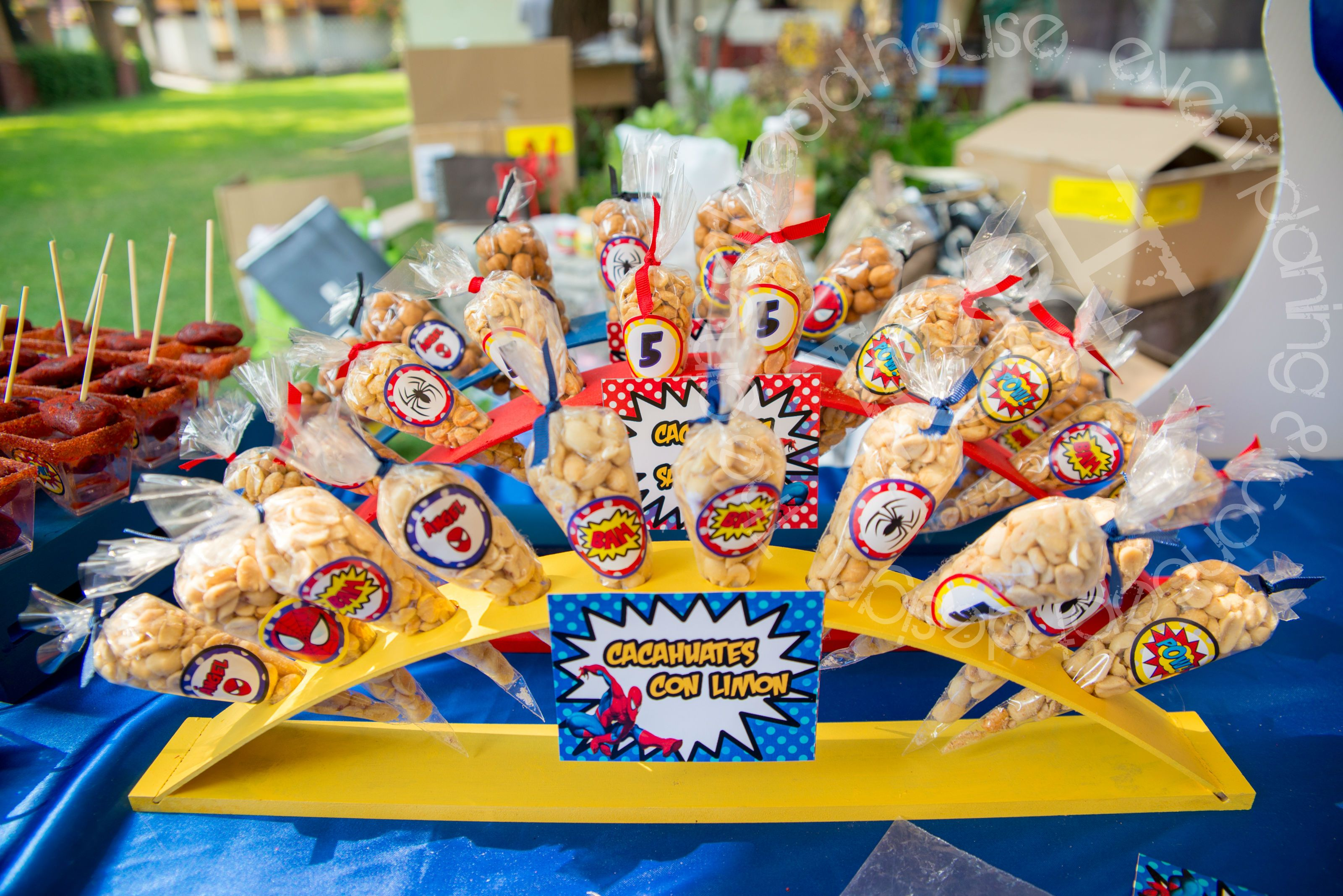 Image Of Food Ideas For A Spiderman Birthday Party Food Ideas For