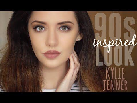 Kylie Jenner Inspired 90s Makeup Tutorial Melanie Murphy