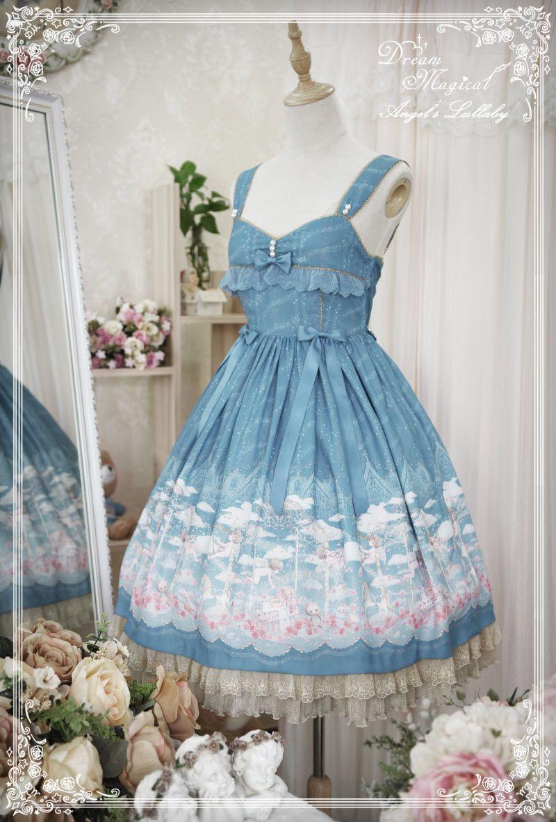 Dream Magical -Angel\'s Lullaby- Sweet Lolita Normal Waist Jumper ...