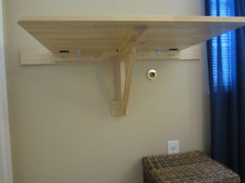 Support Of Norbo Drop Leaf Folding Desk