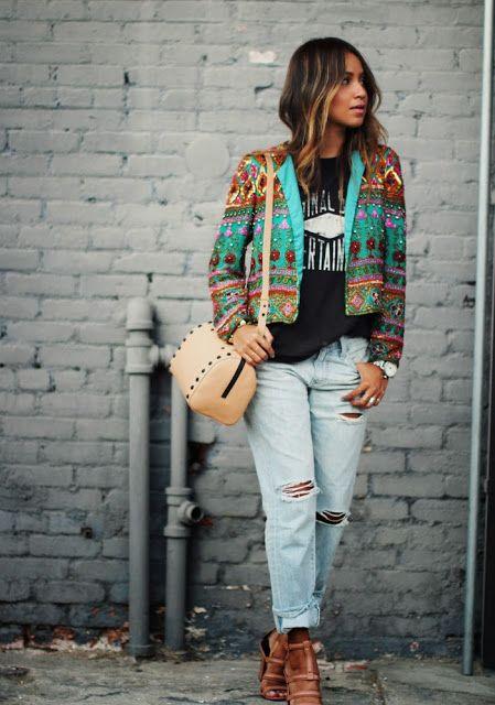 62ac993f12 Fashion Cognoscente  Trend Alert  Ripped Jeans + Distressed Denim