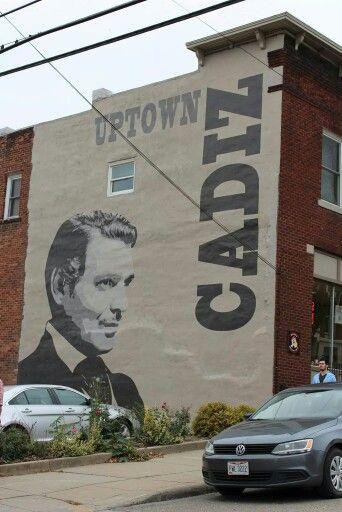 Cadiz, Ohio Home of Clark Gable | Cadiz ohio, Vacations to go, Cadiz