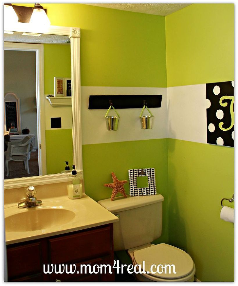 Frame Out Your Builder\'s Grade Mirrors...No Mitering Required ...
