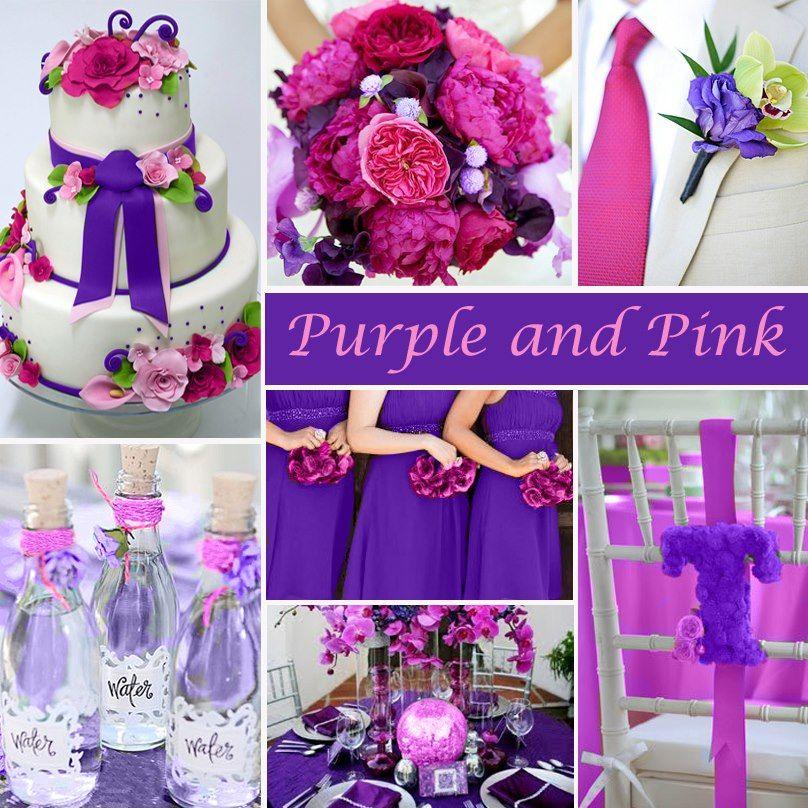 Purple Pink Wedding Ideas Purple Wedding Theme Pink Purple