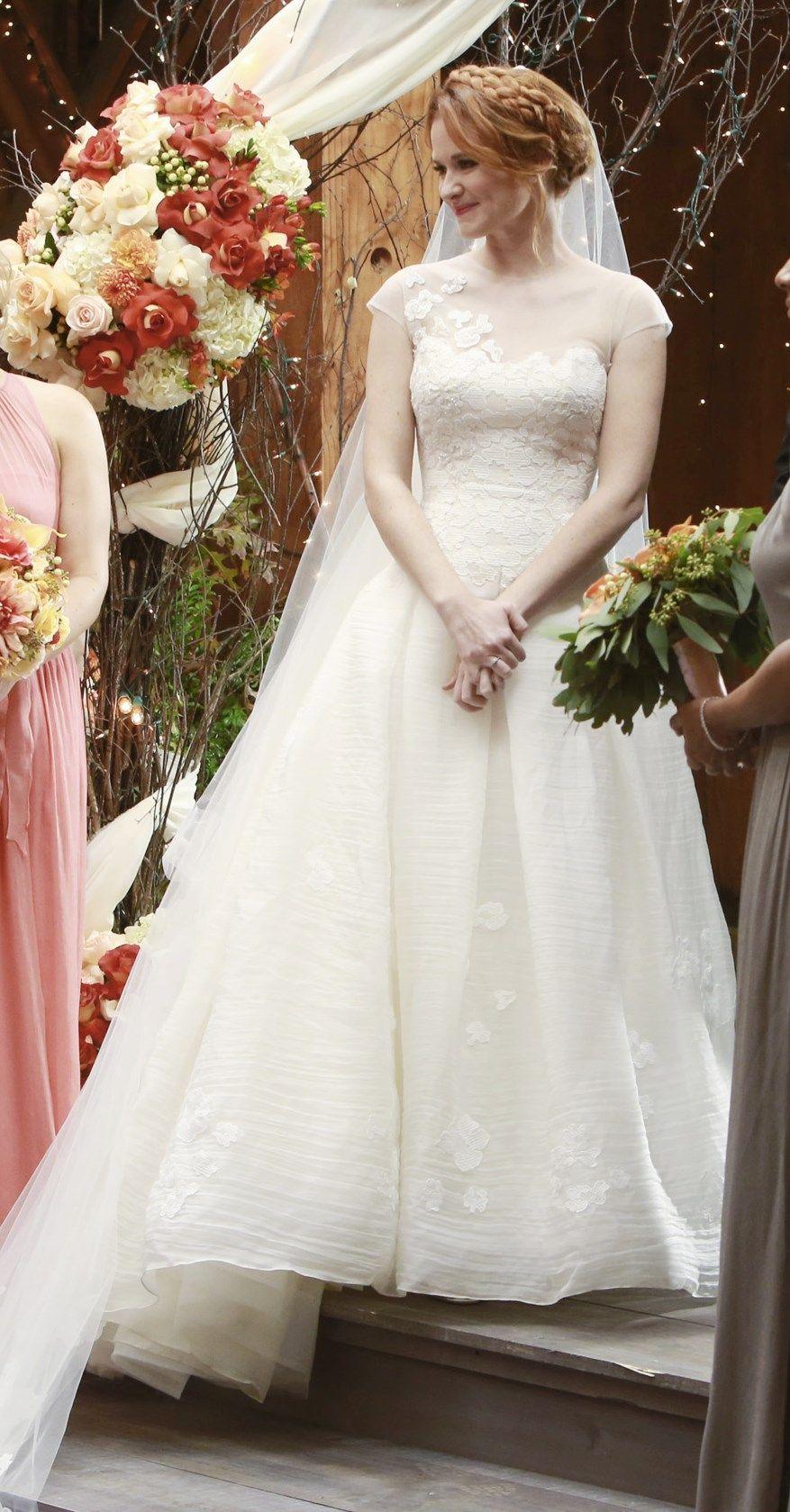 April Kepner Wedding Dress  Vestidos de noiva dos sonhos
